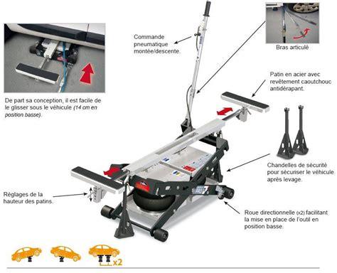 materiel garage auto outil de levage gys spot lift pro 2500kg achat mat 233 riel et