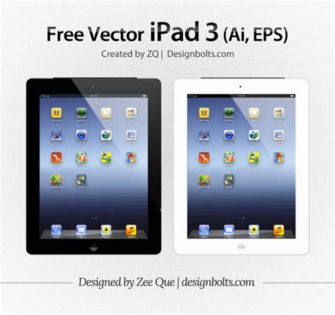 format video on ipad free vector apple ipad 3 tablet mockup in ai eps format