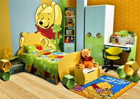 wallpaper dinding kamar winnie the pooh 10 gambar desain kamar anak tema winnie the pooh yang lucu