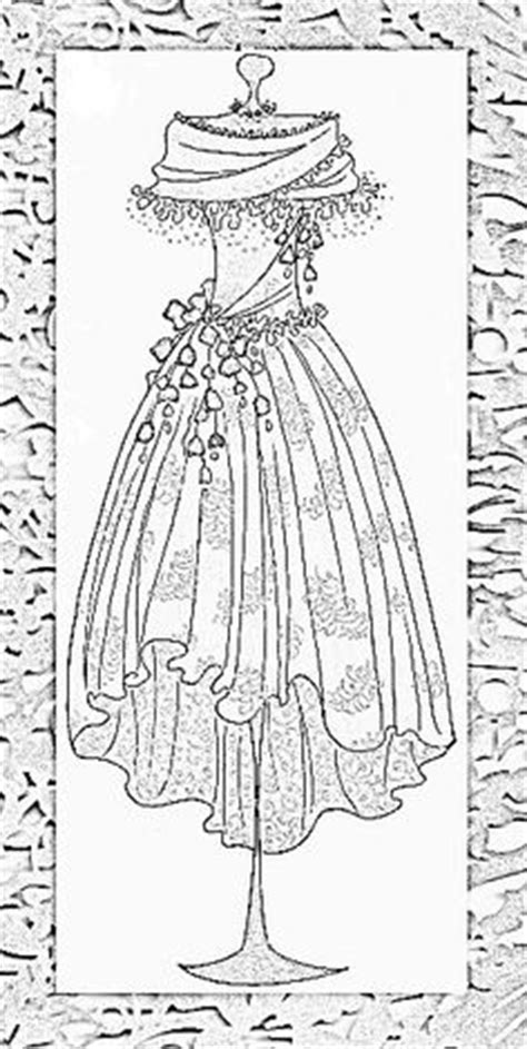 the dress book coloring book collette s dresses volume 4 books coloring embroidery pages fashion on doodle