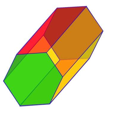 What Is The Name Of A 3d Hexagon Quora - prisms are the introduction your child has to 3d