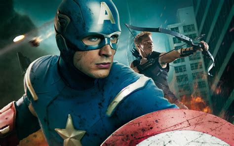 wallpaper captain america movie captain america in avengers movie wallpapers hd
