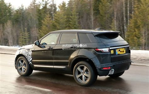 first land rover all new range rover evoque ii spied for the first time as