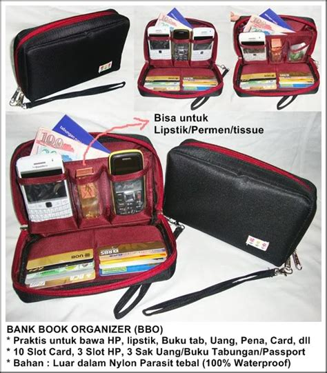 Bankbook Pouchdompet Untuk Buku Tabungan bankbook organizer bbo dewi s hanging shop spesialis