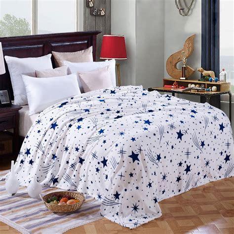 best blankets for bed best selling winter warm sofa blanket star pattern