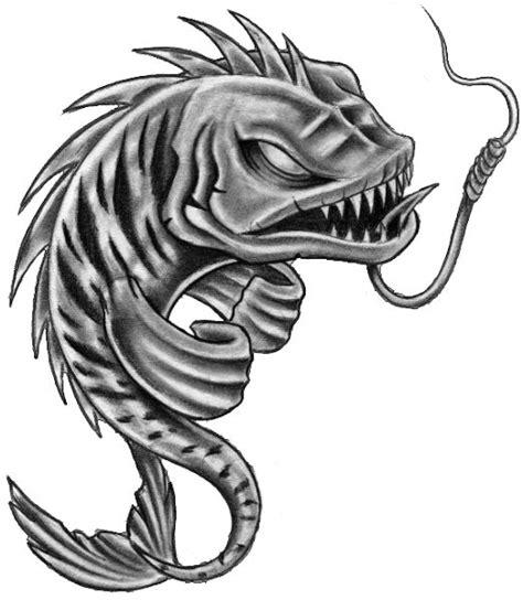 fish skeleton tattoo fish skeleton pisces tattoos stencil photo 1 draw