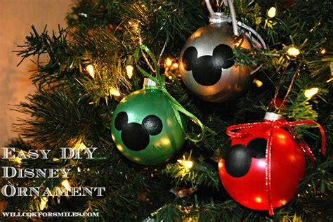 15 fabulous diy disney inspired ornaments to bring some magic to your tree