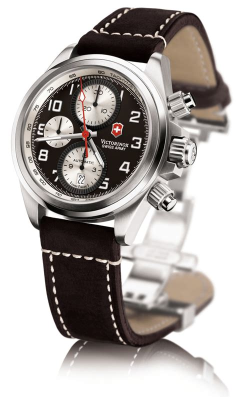 swiss army chrono swiss army chrono pro automatic chronograph stainless