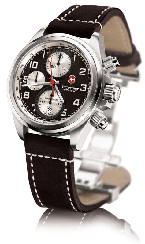 Swiss Army Chrono Black swiss army chrono pro automatic chronograph steel mens