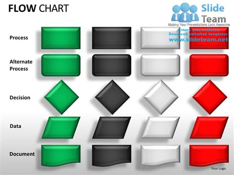 Flow Chart Powerpoint Presentation Slides Ppt Templates Powerpoint Flow Chart Template