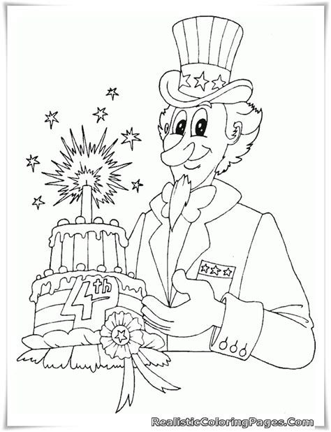 printable coloring pages july 4th free printable 4th july coloring pages realistic