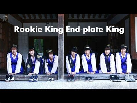 bts rookie king bts rookie king ep 6 end plate king eng sub youtube