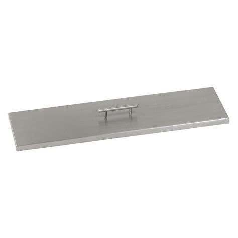 linear pit stainless steel cover for linear drop in pit pan