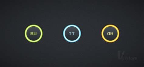 key tutorial illustrator quick tip create a set of glowing buttons in adobe