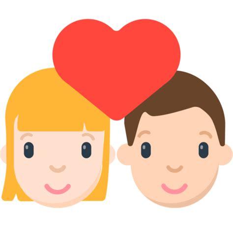 imagenes en png de emojis hombre y mujer enamorados emoji