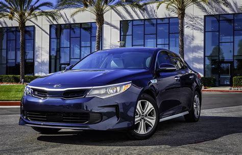 Kia Optima Hybird 2017 Kia Optima Hybrid Optima Phev Unveiled At Chicago