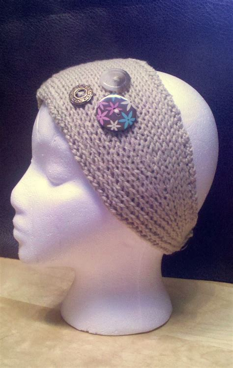 knitted headbands pattern with button knit headband patterns with button a knitting blog