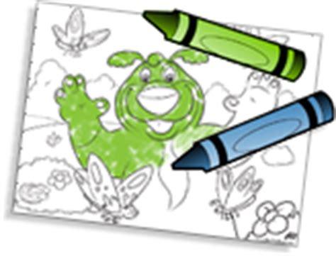 fun animated coloring books for preschoolersboz the bear