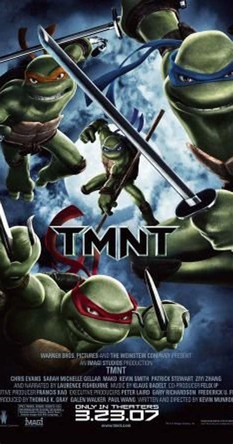 film ninja cartoon tmnt 2007 imdb