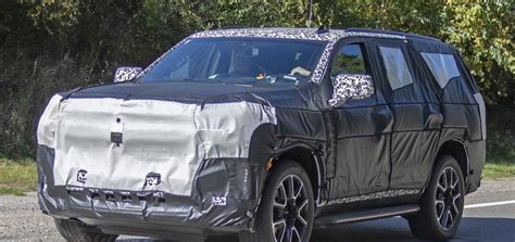 New Chevrolet Tahoe 2020 by New Photos Show Chevy S Upcoming 2020 Tahoe Rst Gm