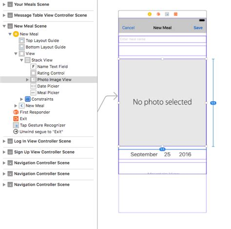xcode custom layout ios xcode stack view breaking with custom control