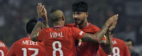 Calendario Clasificatoria Rusia 2018 Chile 1 4 Chile Cr 243 Nica Resultado Y Goles