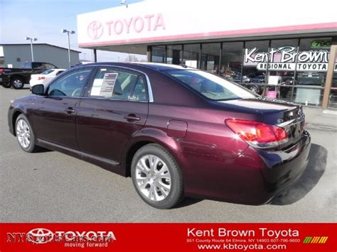 Kent Brown Toyota 2011 Toyota Avalon In Sizzling Crimson Mica 437531