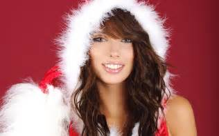 christmas girl wallpaper 270212
