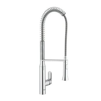 grohe k7 kitchen faucet grohe 32951000 k7 semi pro kitchen faucet starlight