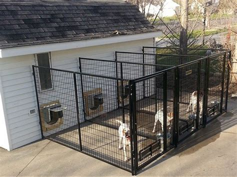 kennels for outside indoor outdoor kennel ideas outdoor ideas