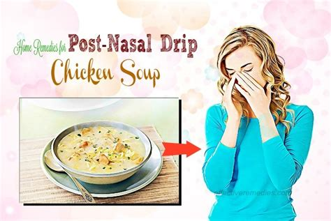 top 20 effective home remedies for post nasal drip