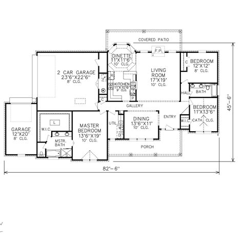 Perry Home Plans | floor plan 7913