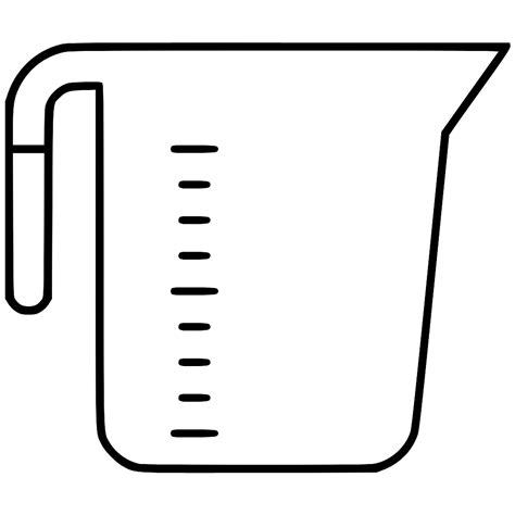 measuring cup clipart measuring cup svg png icon free 482543