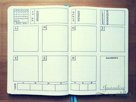 layout for journal intime les 25 meilleures id 233 es concernant mod 232 les de calendrier