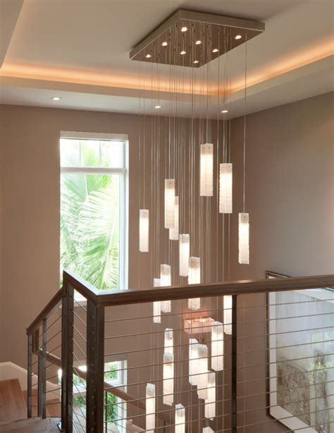plice chandelier modern living room new york by shak 250 ff tanzania chandelier contemporary living room stairwell