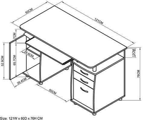 Study Desk Dimensions by Pin By Nour Elhoda Hantash On Standard Of Furniture In