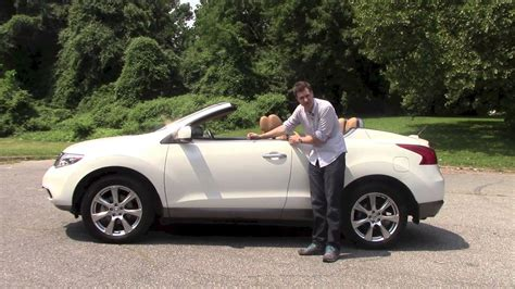 nissan murano crosscabriolet a review