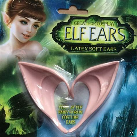 Squishy Lancip mainan telinga peri elven ear