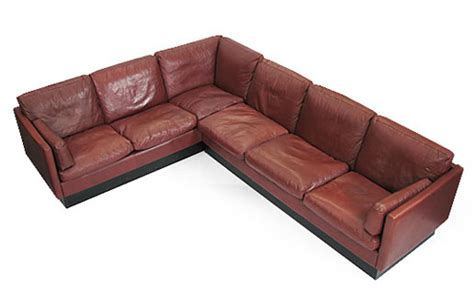 goose sofa large leather goose corner sofa orange and brown