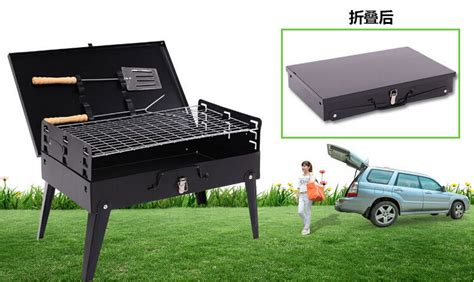 outdoor portable folding home burn oven outdoor barbecue