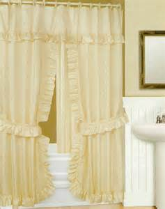 Swag Shower Curtains Swag Shower Curtain With Liner Set Beige 70x72 Shower Window Curtains Bath Linen