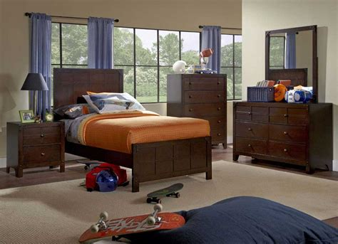 powell bedroom powell summerfield bedroom set walnut 215 bed set homelement