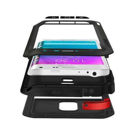 Samsung S6 Edge Mei Powerful Casing Cover Armor Bumper mei powerful samsung galaxy note edge protective