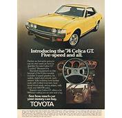 1974 Toyota Celica GT Advertisement Motor Trend November