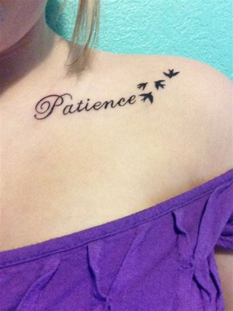 patience tattoo best 25 patience ideas on patience