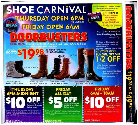 shoe carnival black friday 2013 ad find the best shoe