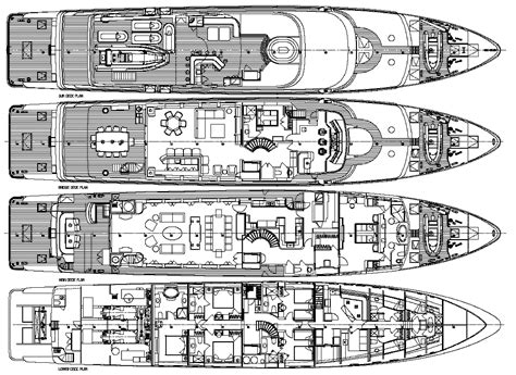 yacht floor plans yacht casino royale