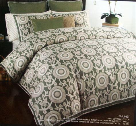 michael kors bedding amazon com michael kors comforter set phuket collection