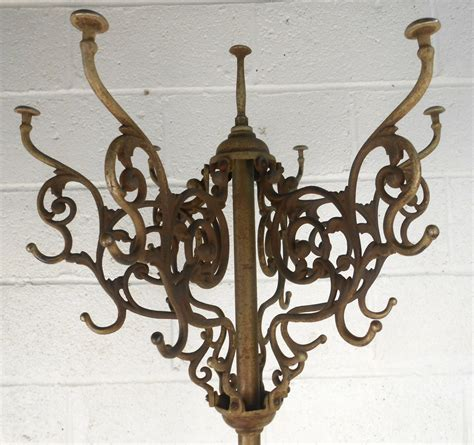 Unique Hat Rack by Unique Style Cast Iron Coat And Hat Rack At 1stdibs
