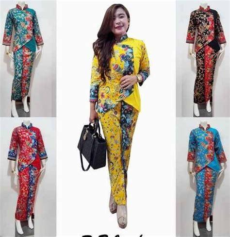 Batik Terbaru 20 model baju batik setelan trend terbaru 2018